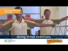Exercises for Parkinson's: Strengthening Exercises - YouTube
