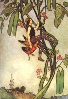 SurLaLune Fairy Tales: Illustrations of Jack and the Beanstalk By warwick goble