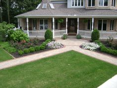 front walkway #landscaping