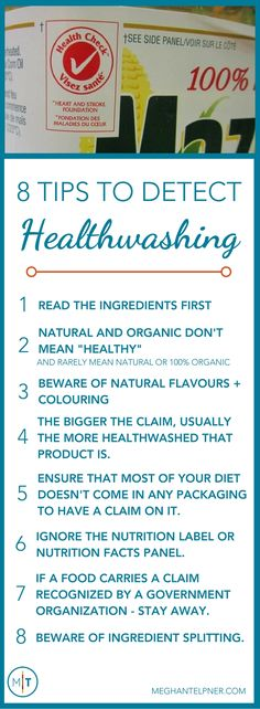 8 Tips to Detect Healthwashing and Avoid Falling for False Claims