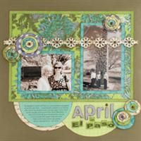 A Year in the Life - Craft a year's worth of memories starting with 3 simple scrapbook sketches that you can twist, turn and tweak to create 12 unique pages.  Free online scrapbook class at Spotted Canary.