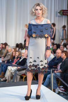 Olivia Varani, HND Fashion Textiles. Metamorphosis fashion, textiles and jewellery show, 1 June 2013.