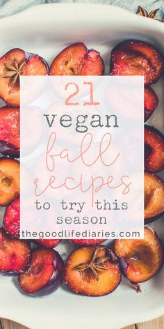 Have you tried any of these vegan fall recipes yet?