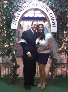 Famous archway...Little White Wedding Chapel  <3  #elope  #Vow Renewal  #marriage  #Vegas