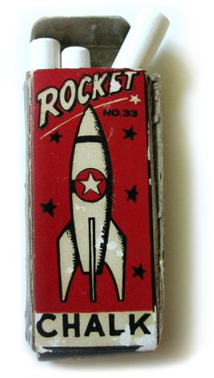 Rocket Chalk. I love the  simple design.