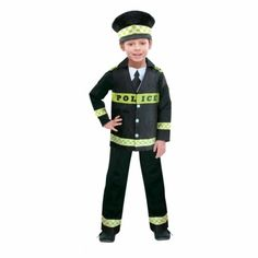 #KidsCostumes for Boys and Girls!  Want to be a Police officer when you grow up? Here's your chance to look the part and start practicing for the future. Shop for kids #PoliceCostumes, Fireman, Doctor, Air Cadet costumes and more.  Ideal for #FancyDress, #Halloween, #CostumeParties etc.