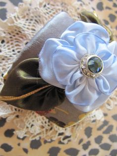 asian inspired fabric cuff by gilded cage design, via Flickr