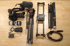 Complete Documentary Filmmaking Kit in One Backpack