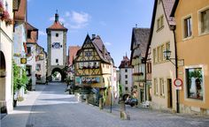 Walt Disney was so taken by the town of Rothenburg ob der Tauber, Germany, that he used it as inspiration for the village in the movie Pinocchio. (Courtesy Berthold Werner/Wikimedia Commons) From: 10 Coolest Small Towns in Europe.