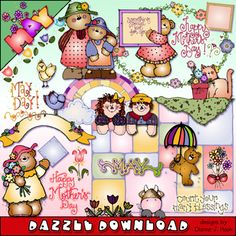 You'll SAVE $1 when you download your 'May Dazzle' collection this week! On sale through May 6, 2015.  (Pssst! When you buy the complete 'Dazzle Daze' collection, you'll SAVE 30%!!!)