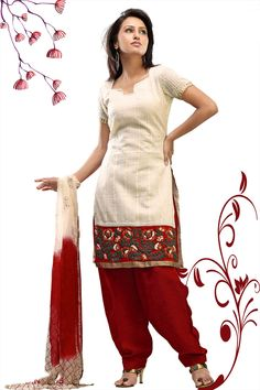 A salwar kameez is a casual Indian dress which has 3 pieces salwar (Pant), Kameez (top), and a shawl. Many Muslims also wear salwar kameezs. Each salwar Kameez has a very different design.