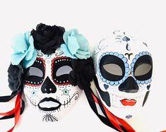 Masquerade Mask Women, Couples Masquerade Mask from USA by HigginsCreek Couples Masquerade Masks, Masquerade Ball, Costume Birthday Parties, Carnival Festival, Hand Designs, Mardi Gras, Halloween Party, Halloween Face Makeup, Etsy Seller