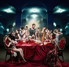 """Model Work / """"The Last Supper"""" Shoot featuring Mark Munroe Tableaux Vivants, The Last Summer, Gothic Vampire, Friends With Benefits, Last Supper, Les Oeuvres, Dream Wedding, Photoshoot, Culture"""