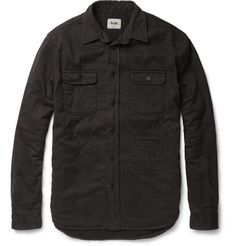 Acne Mailer Woven-Cotton Overshirt