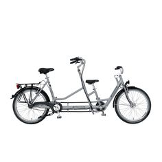 Let this gorgeous PFIFF Collecttivo tandem bike take you and a special someone on scenic routes and charming adventures. Made of impressively durable tig welded steel, this tandem bike features two se