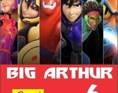 Rótulo Batom Big Hero