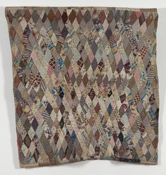 Double-sided Cot Quilt 1890-1900 Dennis / Cann family
