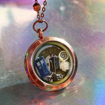 Are you looking for a charm set you can't find anywhere else?  Then you've come to the right place!  This set is great for Whovians, and is totally unique!  It includes the locket and all the charms!  These cute charms are perfect for any locket!  Mix and match the charms however you like!  They ...
