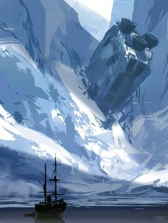 Discovery, sparth - nicolas bouvier on ArtStation at http://www.artstation.com/artwork/discovery-18cbec16-e306-472d-85e4-6d81c38c847c