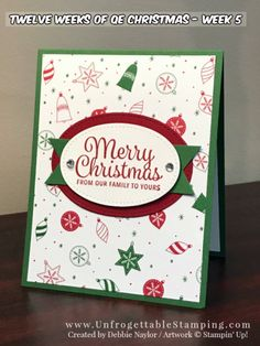 9 More Easy Homemade Christmas Cards with Step by Step Instructions – DIY Fan Chrismas Cards, Christmas Cards 2018, Stamped Christmas Cards, Simple Christmas Cards, Homemade Christmas Cards, Xmas Cards, Homemade Cards, Handmade Christmas, Holiday Cards