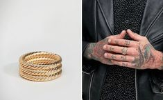 70 Cool Rings For Men That Are Incredibly Unique Discover an impressive selection of cool rings for men that are unique & creative, We have compiled the ultimate list of cool rings for guys! Check it Out! Cool Rings For Men, Wedding Rings, Engagement Rings, Cool Stuff, Creative, Unique, Guys, Check, Cool Mens Rings