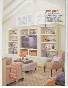 Built-in idea from Better Homes and Gardens April 2015.