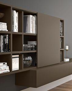 SPAZIOTECA libreria | bookcase | PIANCA | www.pianca.com