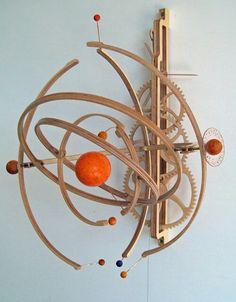 Woodwork Clock