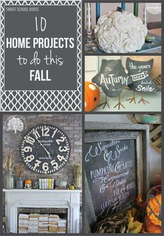 Try some of these 10 awesome DIY home decor projects for your home this fall!