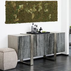 Shop Linea Entertainment Console by Bernhardt at 2 Weathered Furniture, Dining Furniture, Furniture Ideas, Wrap Over Top, Bernhardt Furniture, Home Entertainment, Contemporary Interior, Design Trends, Modern Design
