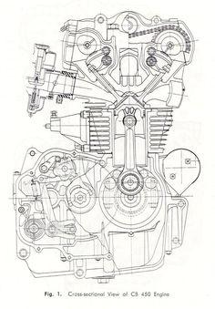 ducati engine schematic cutaway diagrams pinterest ducati rh pinterest com ducati 1098 engine diagram ducati 748 engine diagram
