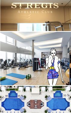 Athletic Clubs, Beauty, Beauty Illustration