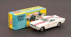 Mettoy Corgi diecast No.325 Ford Mustang Fastback 2+2 1965-69