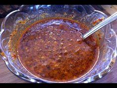 Cómo hacer salsa de Chile de árbol en aceite con cacahuate y ajonjolí - 2015 - YouTube