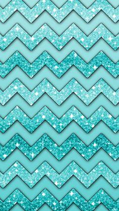 blue chevron wallpaper
