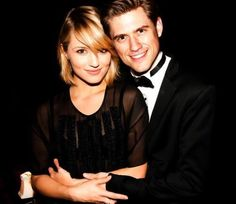 Aaron Tveit<3 (we'll just pretend that girl isn't there)