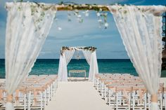 Huracan Cafe, Punta Cana Destination Wedding!!  Jessica and Christopher's wedding by Mayte and Naty!!