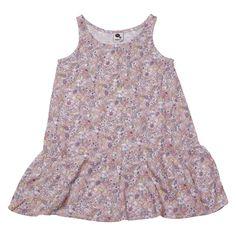 KRUTTER Rose flower granny dress - DRESSES // SKIRTS  - KRUTTER