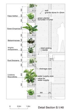 Stacking Green in Ho Chi Minh City, Vietnam, designed by Vo Trong Nghia Architects, has won World Architecture Festival for the house category. Atelier Architecture, Detail Architecture, Green Architecture, Sustainable Architecture, Sustainable Design, Landscape Architecture, Landscape Design, Vertikal Garden, Green Facade