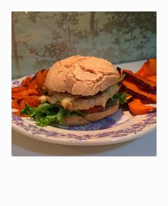 turkey burger, kalkun burger Fritters, Hamburger, Chips, Turkey, Thanksgiving, Chicken, Ethnic Recipes, Happy, Food