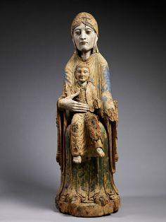 Vierge à l'Enfant trônant   Panorama de l'art