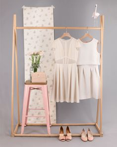 Visual Merchandiser, styling and still life designs Photography Studio Spaces, Clothing Photography, Creative Photography, Fashion Photography, Fashion Displays, Clothing Displays, Clothing Store Design, Boutique Clothing, Boutique Interior