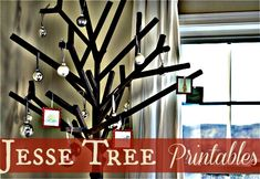 Free Jesse Tree Printables--did this last year with the kids and LOVED it!