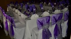 63 best purple bows chair covers images chair back covers lilac rh pinterest com