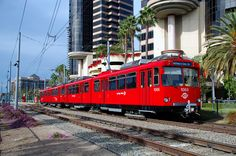 San Diego Trolley - San Diego, CA We took it from Seaport Village to Old Town.