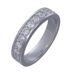 Diamond set wedding band. Please contact bespoke@makermends.com if you would like a quote for this ring
