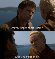 Glad to see Jaime and Brienne's bromance hasn't changed since arriving in King's Landing...