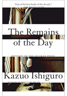A small masterpiece about a man who has spent nearly his entire life as a butler, a role that has defined him. What will become of him as the world changes and serving a gentleman is no longer an elevated calling? And are there any gentlemen left? Ishiguro's seemingly conventional upstairs/downstairs story turns ingeniously subversive.