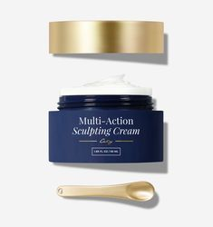 Multi-Action Sculpting Cream Diy Beauty Face, Beauty Skin, Creme, Face Wrinkles, Cosmetic Design, Beauty Cream, Sagging Skin, Aging Cream, Face Skin Care