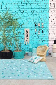 les 84 meilleures images du tableau jamais trop de terrazzo sur pinterest linge de maison. Black Bedroom Furniture Sets. Home Design Ideas